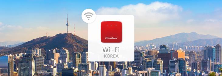 【韓國 Wi-Fi 機租借】 4G 高速上網 + 無限流量吃到飽(台灣機場領取)