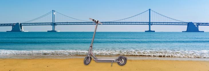 【釜山廣安里】電動滑板車租賃券