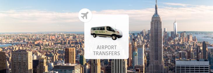 【紐約機場接送】紐約甘迺迪國際機場(JKF)、拉瓜地亞機場 La Guardia(LGA)- 紐約市區飯店 共乘接送服務