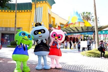 【台灣最好玩水陸樂園】台中麗寶馬拉灣海陸雙樂園一日遊