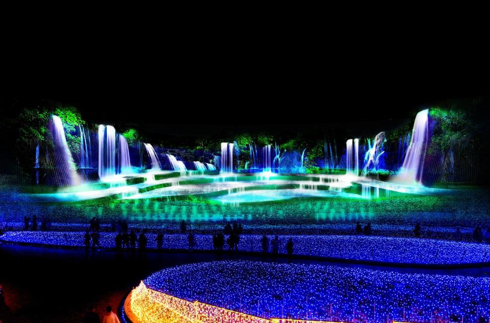 vườn ánh sáng nhật bản