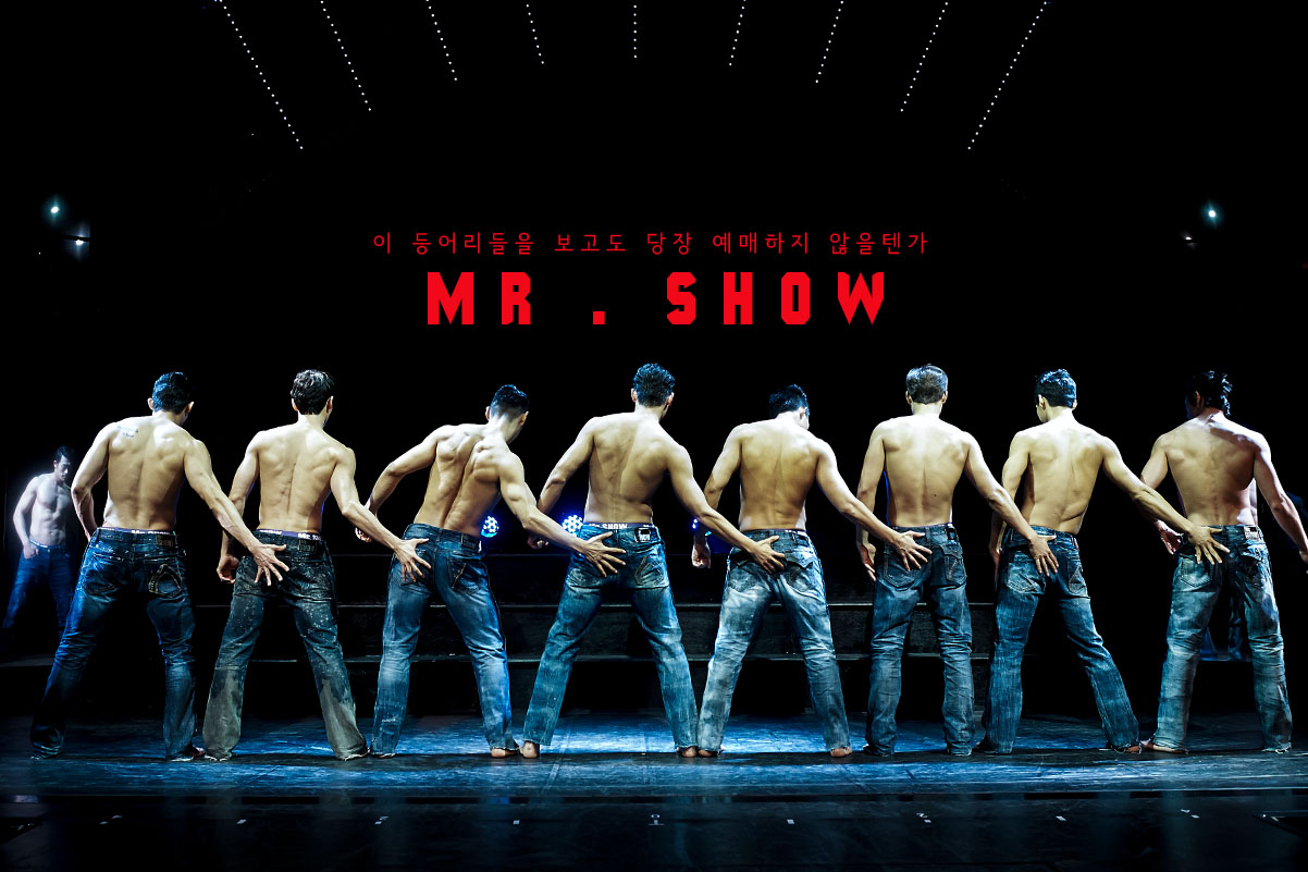 mr show seoul s only male strip show kkday com