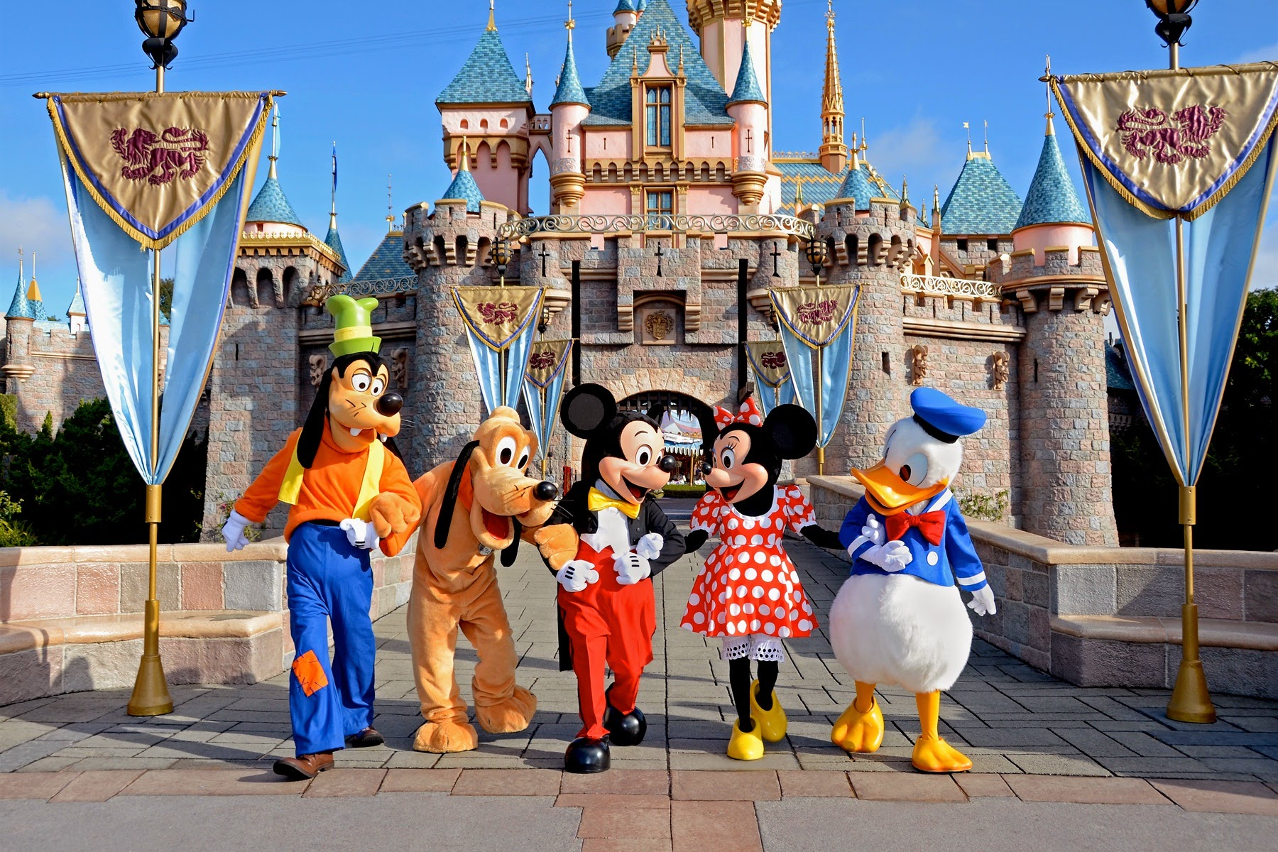 Disneyland California Day TicketKKdaycom - Disneyland usa location map