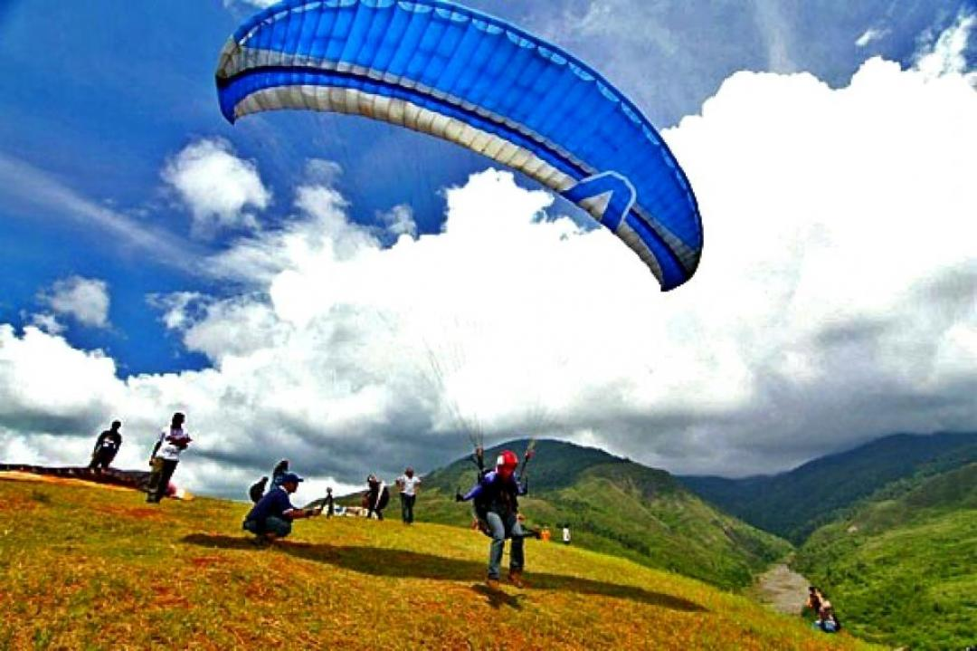 Image result for ranau paragliding