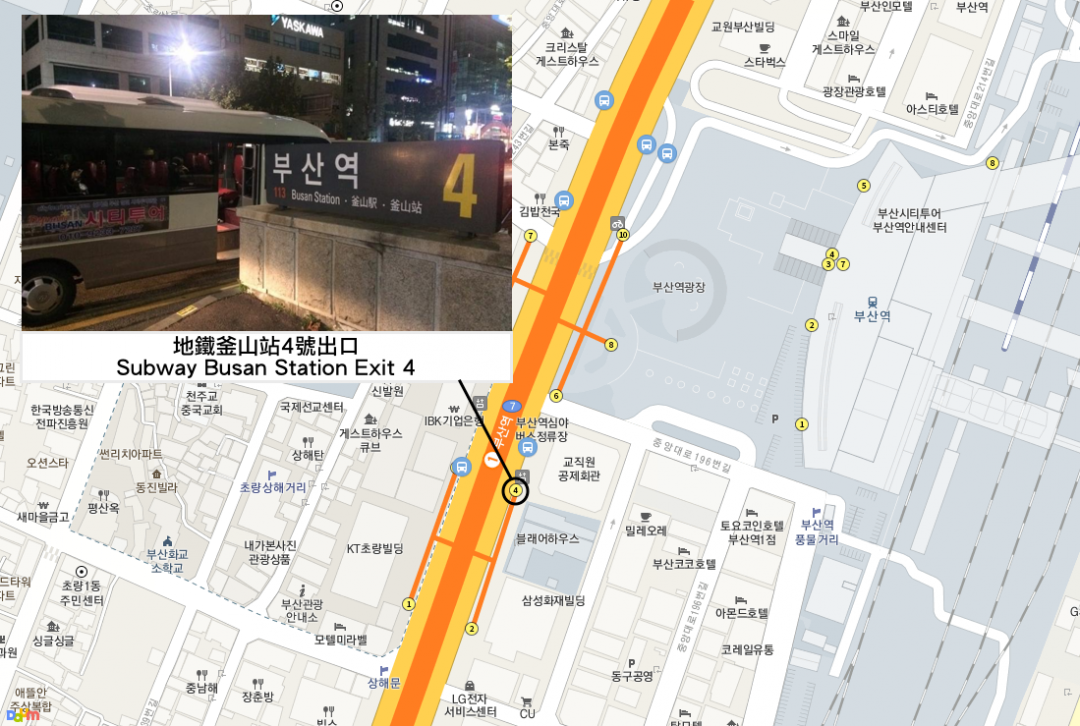 Busan Night Tour Image