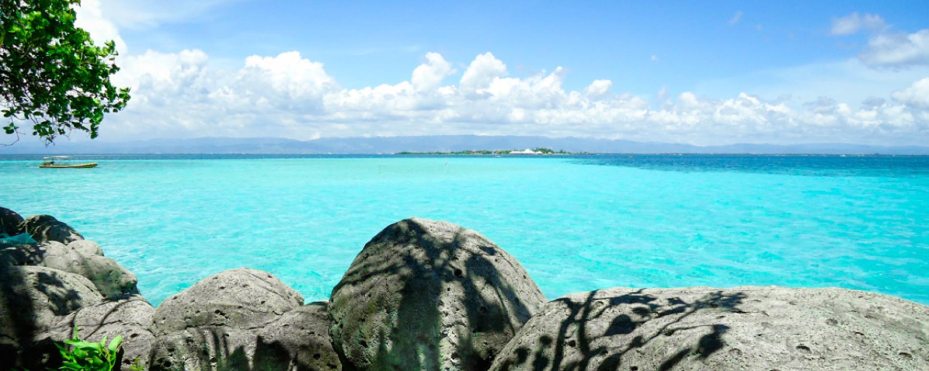 "Cebu Nalusuan Island Snorkeling Tour"""