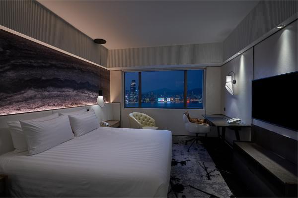 【「心悅有賞」住宿套票計劃】免費升級至新裝潢客房連早餐、下午小點及雞尾酒、24小時住宿體驗|柏寧酒店 The Park Lane Hong Kong, a Pullman Hotel