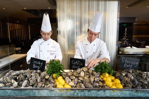 海景嘉福洲際酒店自助晚餐