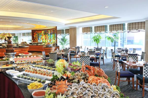 北角海逸酒店綠怡咖啡廳自助餐
