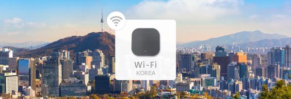 【韓國Wi-Fi機租借】4G高速上網+1GB內不降速(香港機場領取)