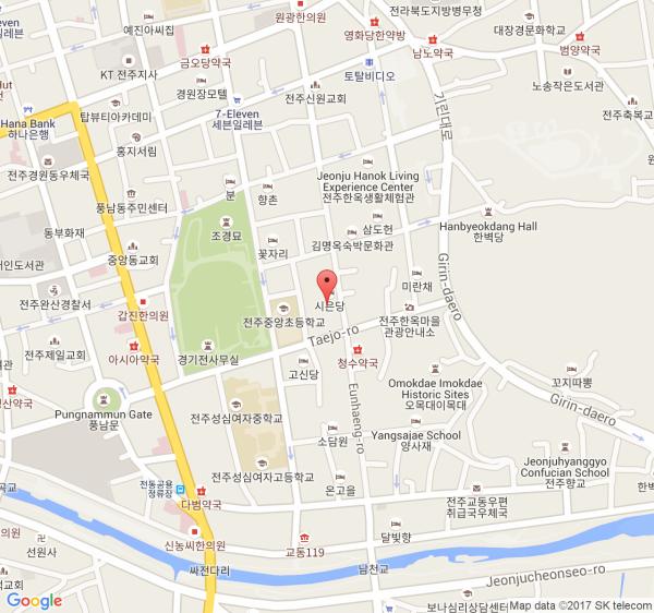 Jeonju Hanok Village Hanboknam Hanbok Experience KKday - Jeongju map