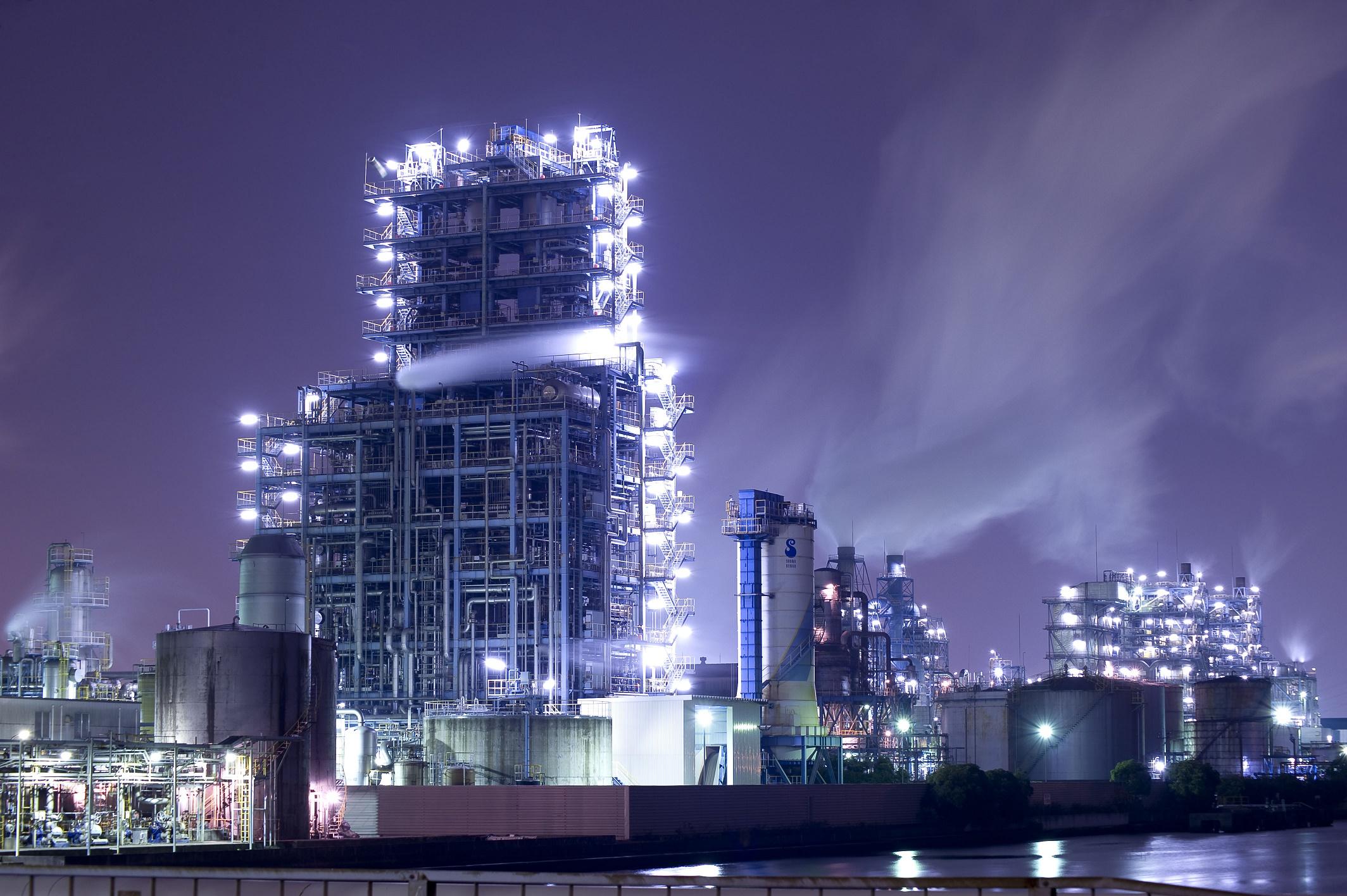 神奈川夜景 乘坐屋形船 欣赏川崎工业区工场夜景 Kkday