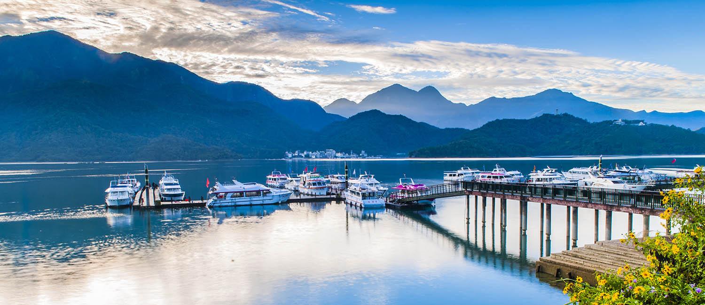 """Kết quả hình ảnh cho Du thuyền trên hồ Nhật Nguyệt"""""""
