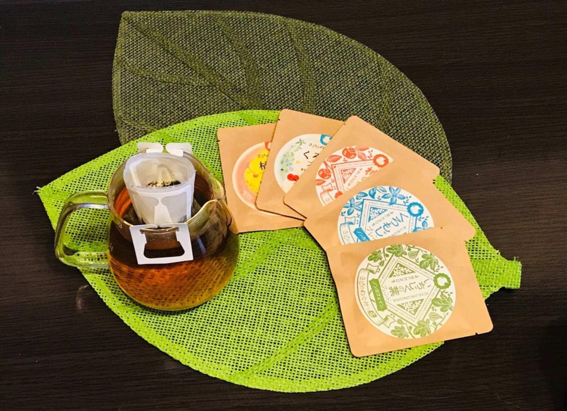 【お取り寄せ】新潟 佐渡島|佐渡のめぐみっ茶|日本の離島みやげ通販