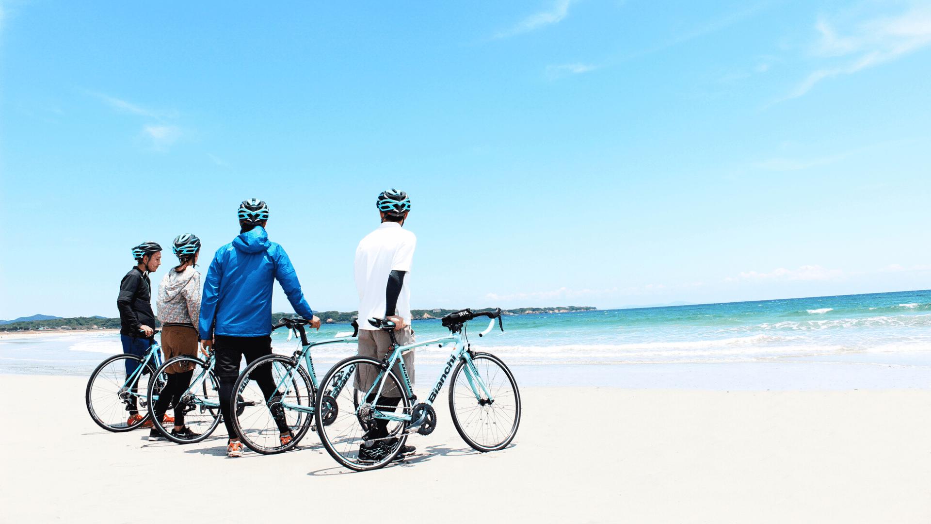 志摩サイクリングツアー|安乗﨑灯台・国府白浜散策|三重アクティビティ予約