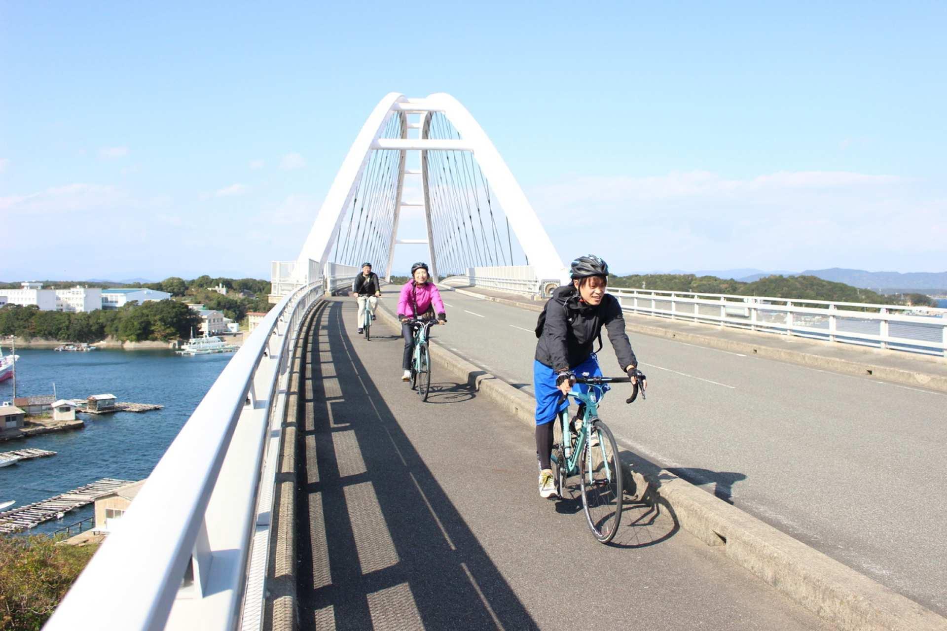 志摩サイクリングツアー|パールブリッジ・海女小屋ランチ|三重アクティビティ予約