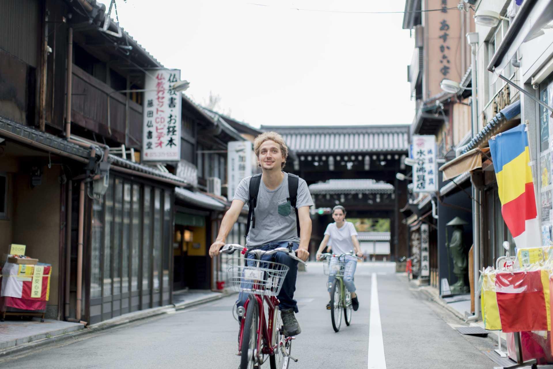 日本京都|レンタサイクル|京都駅サイクルターミナル