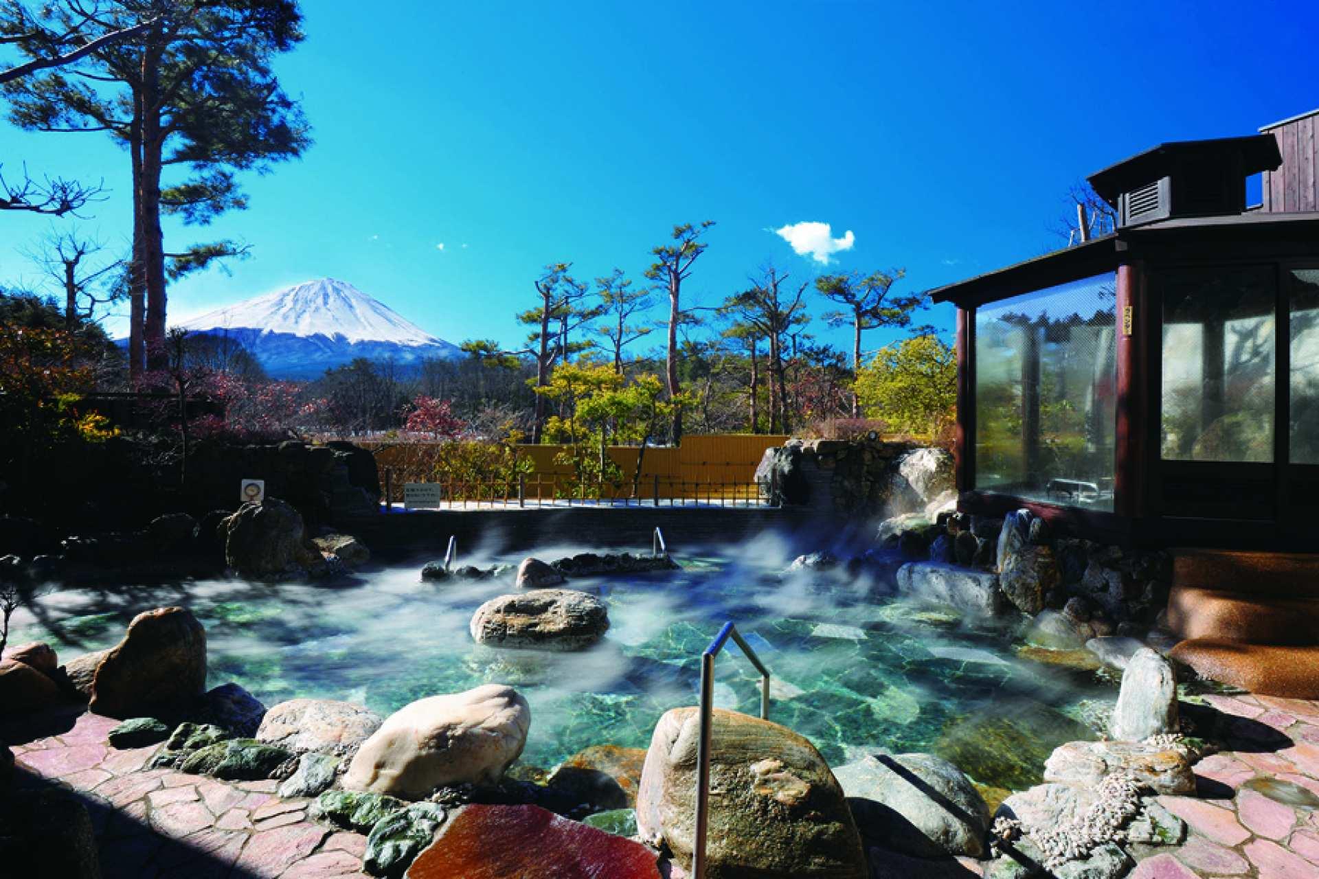 日本山梨|富士眺望の湯ゆらり Yurai Onsen 入場券