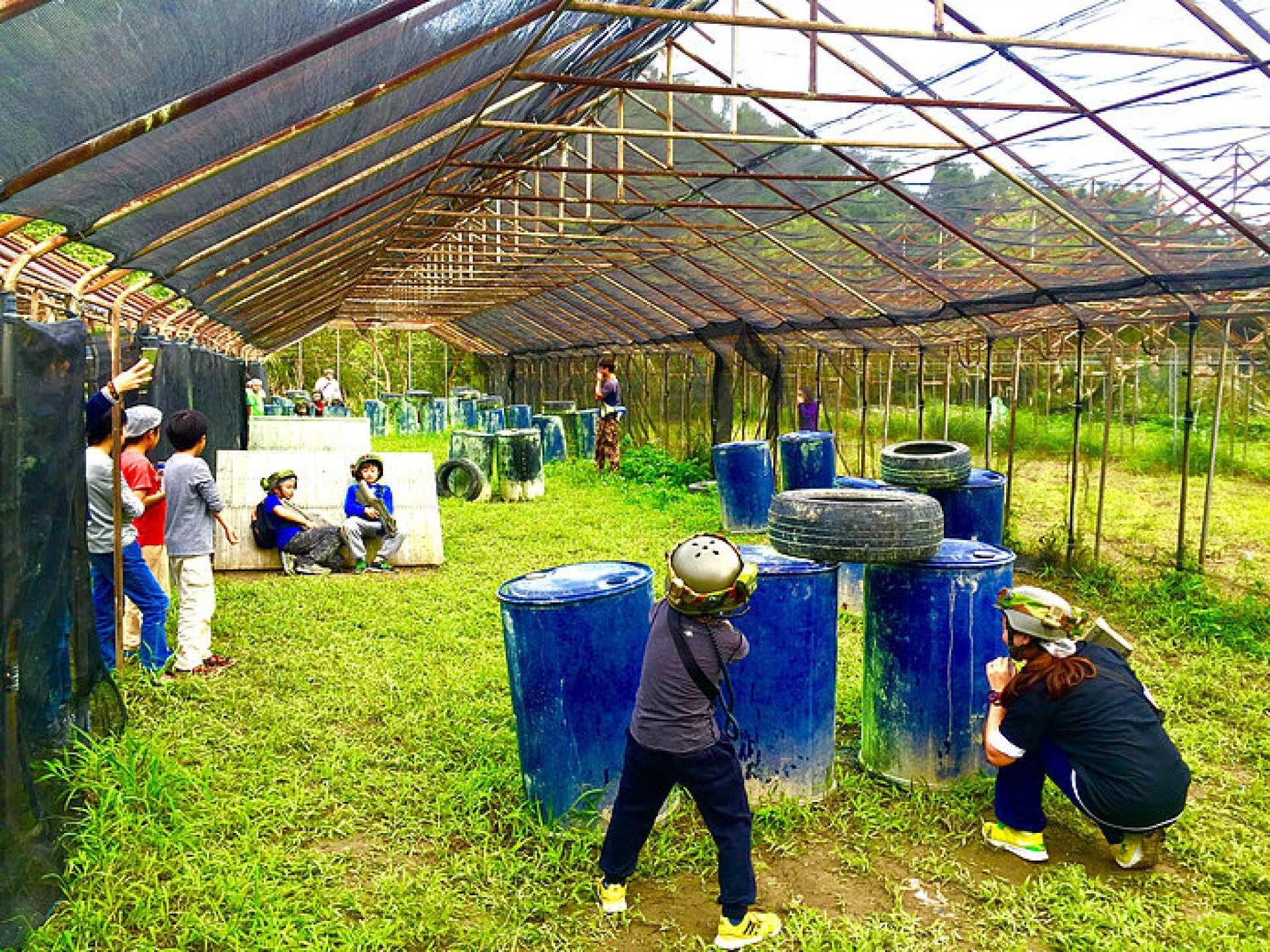 台北鐳戰射擊體驗