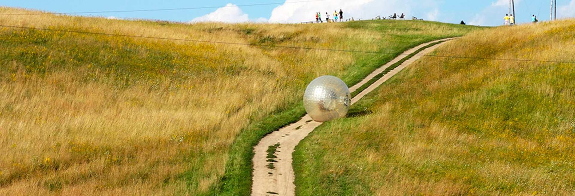 【濟州島新體驗】巨型泡泡太空球