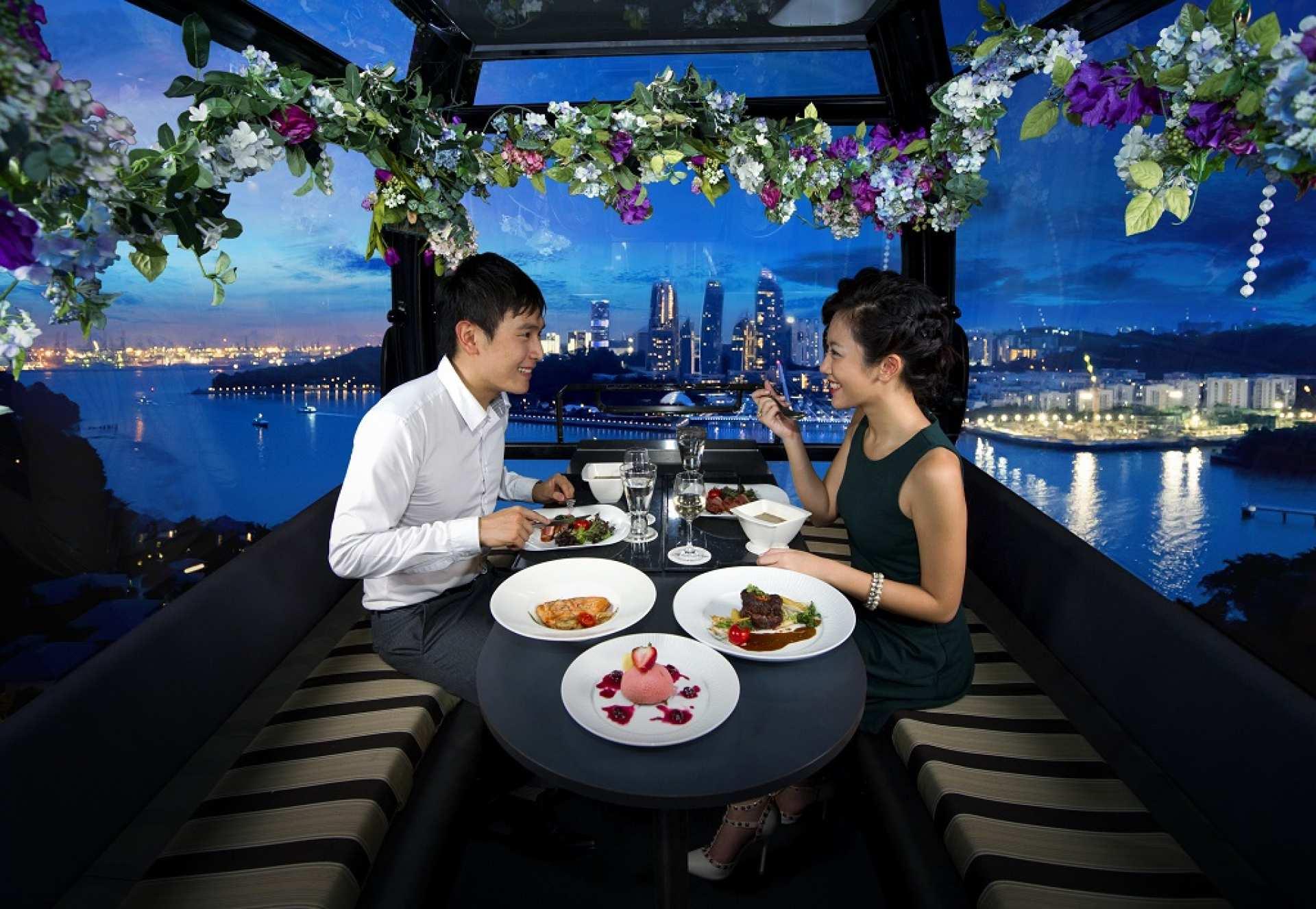 【星光下的空中晚宴】花柏山纜車高空晚餐