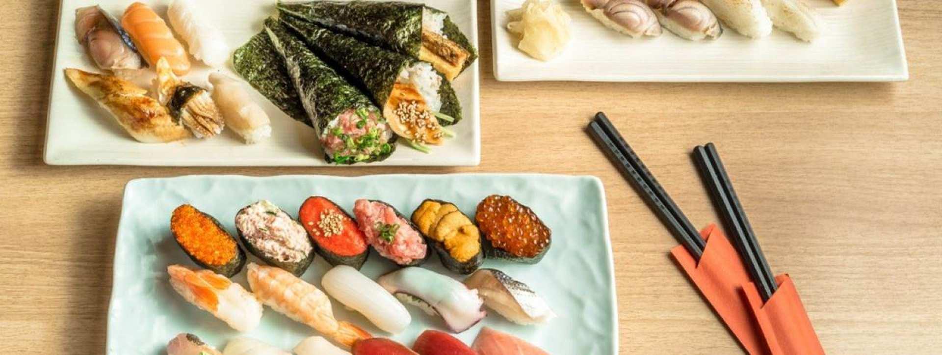 【官方授權預約】東京高級壽司吃到飽・酒水無限暢飲壽司名店・雛鮨