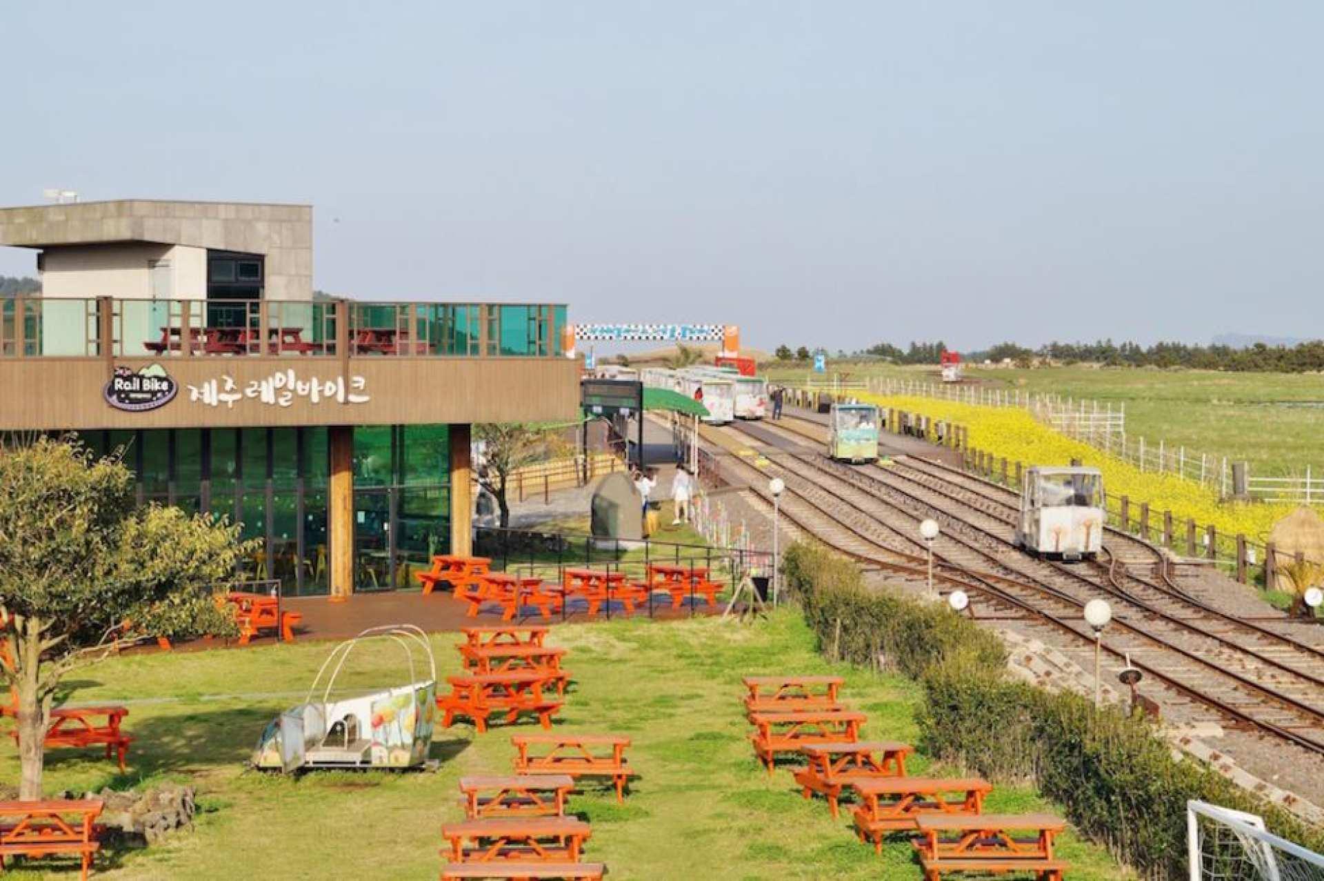 濟州島鐵道自行車RailBike門票
