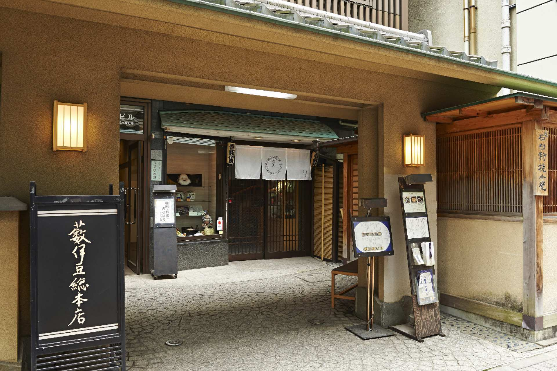 【東京美食】日本橋蕎麥麵・薮伊豆総本店