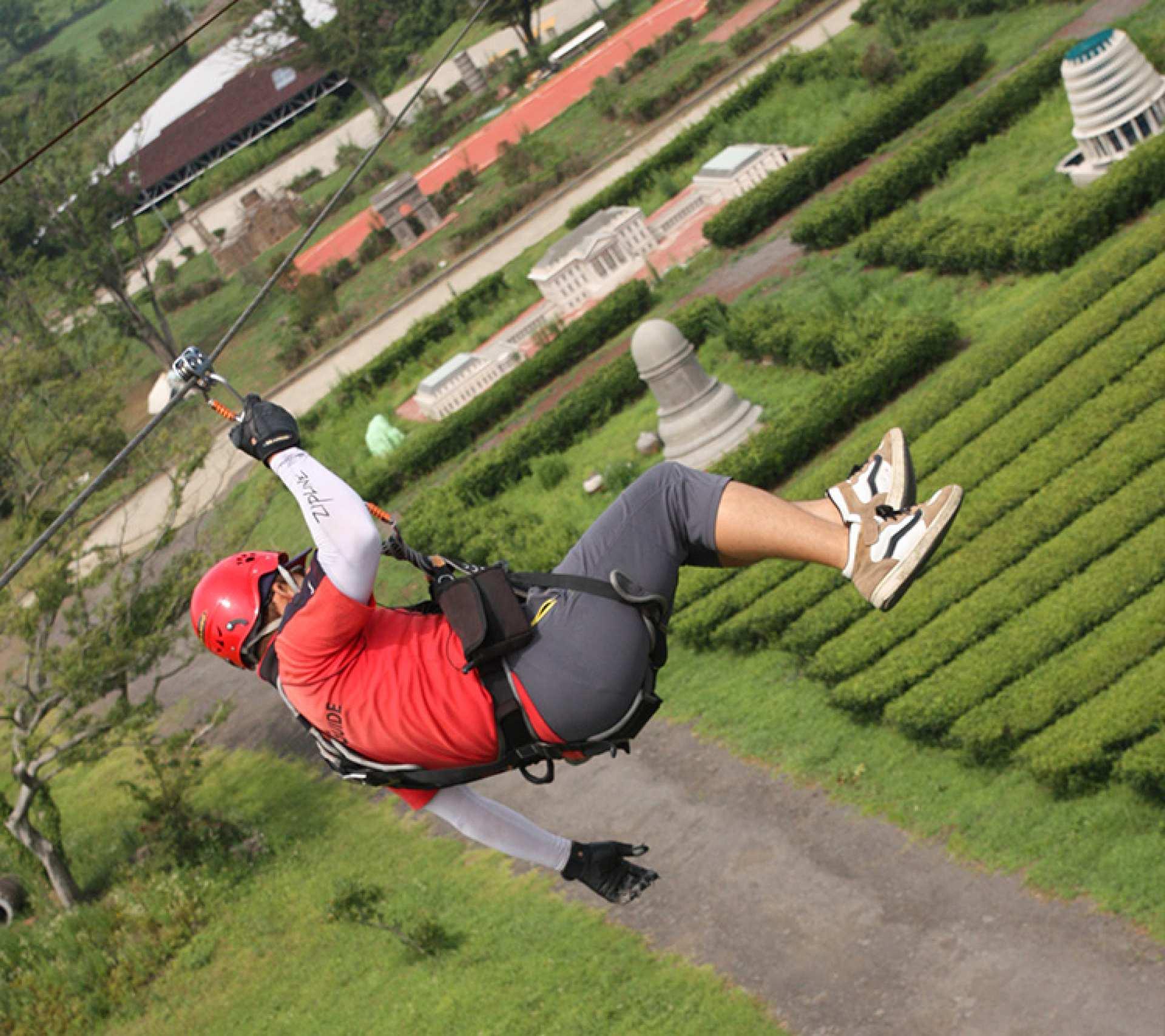 【濟州島高空快感】Zip Line 高空滑索體驗