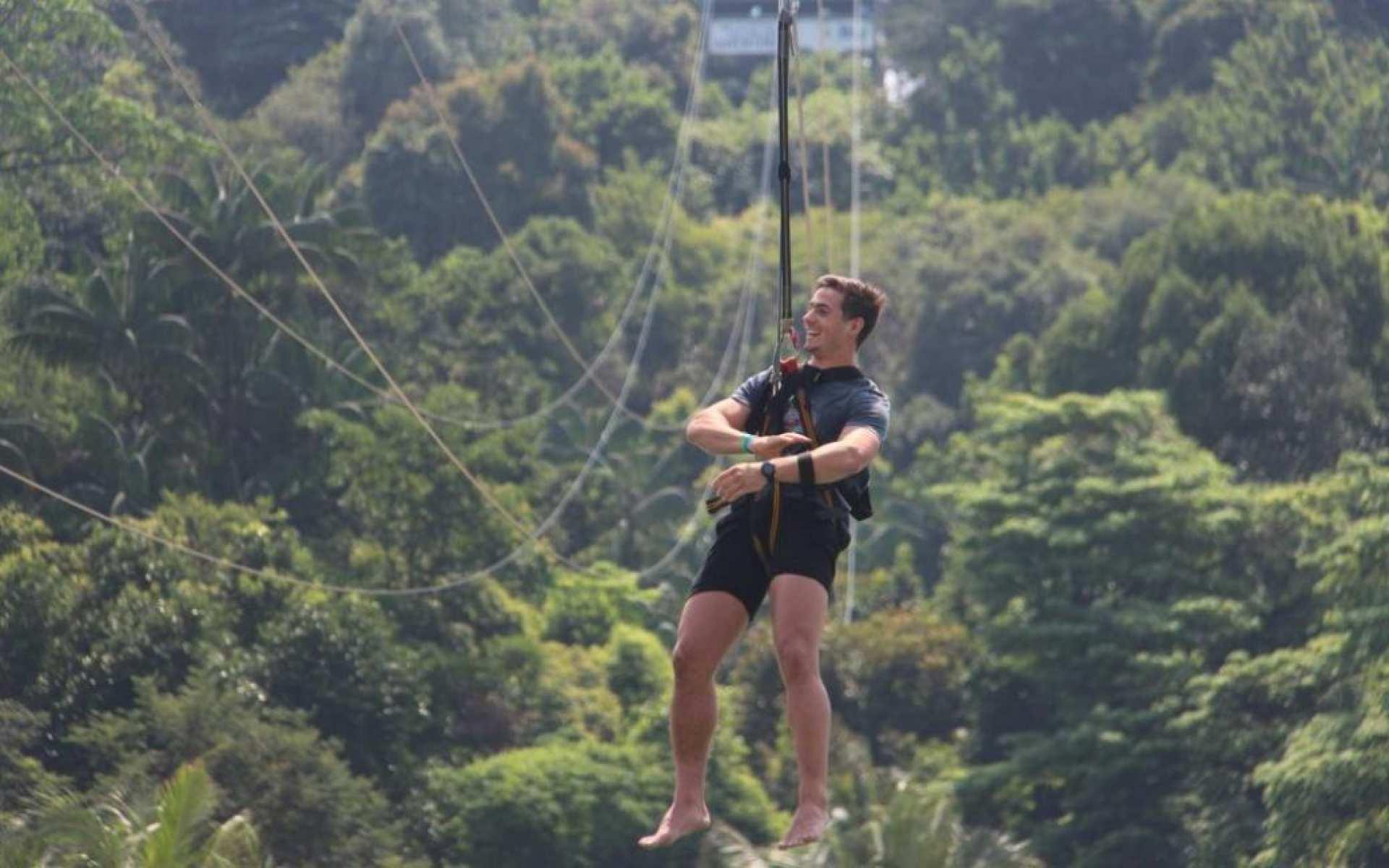 【挑戰新加坡極限飛索】聖淘沙 MegaZip 叢林滑索門票