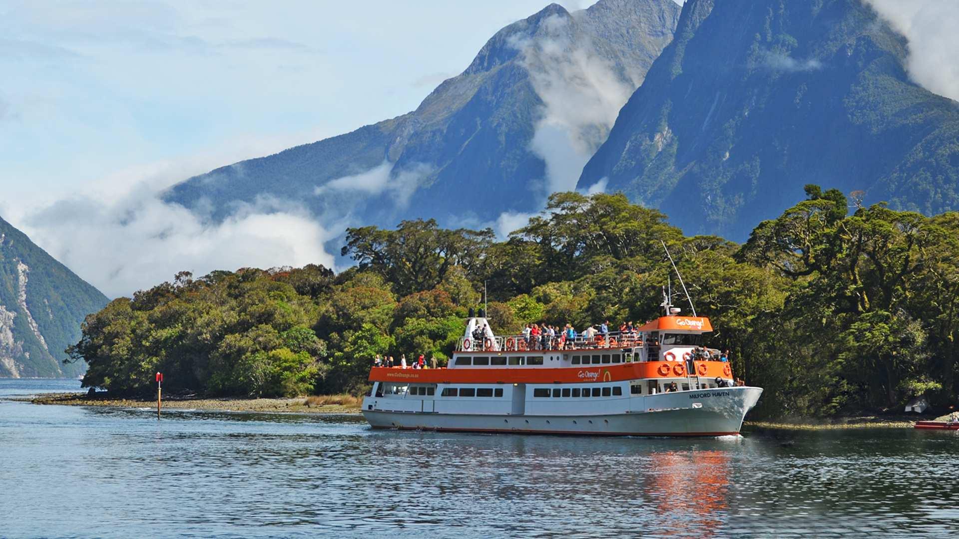 【紐西蘭米佛峽灣交通套票】皇后鎮 / 蒂阿瑙觀光巴士 遊船票券