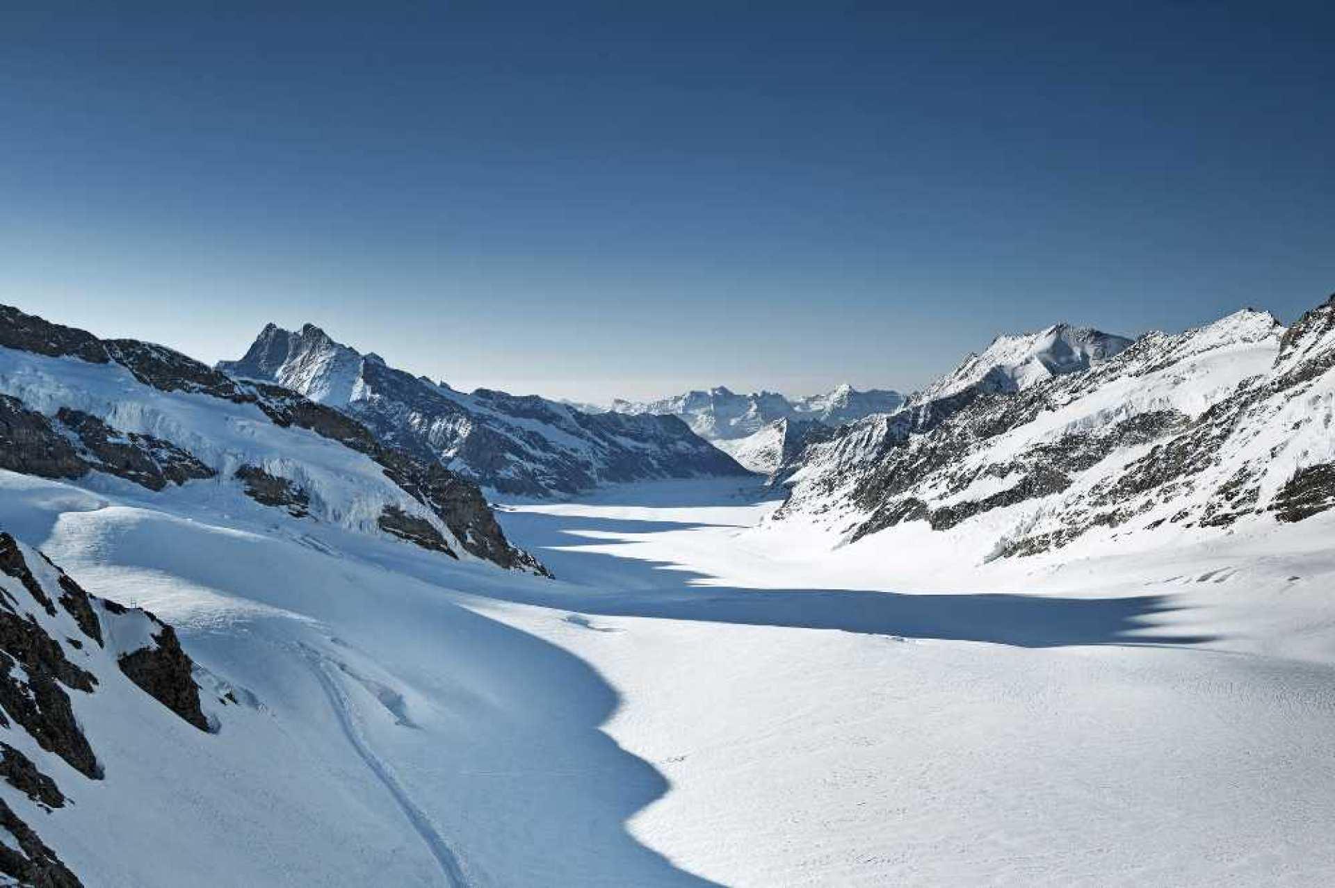 【世界遺産】スイス・アルプス:ユングフラウ1日ツアー(チューリッヒ / ルツェルン発)