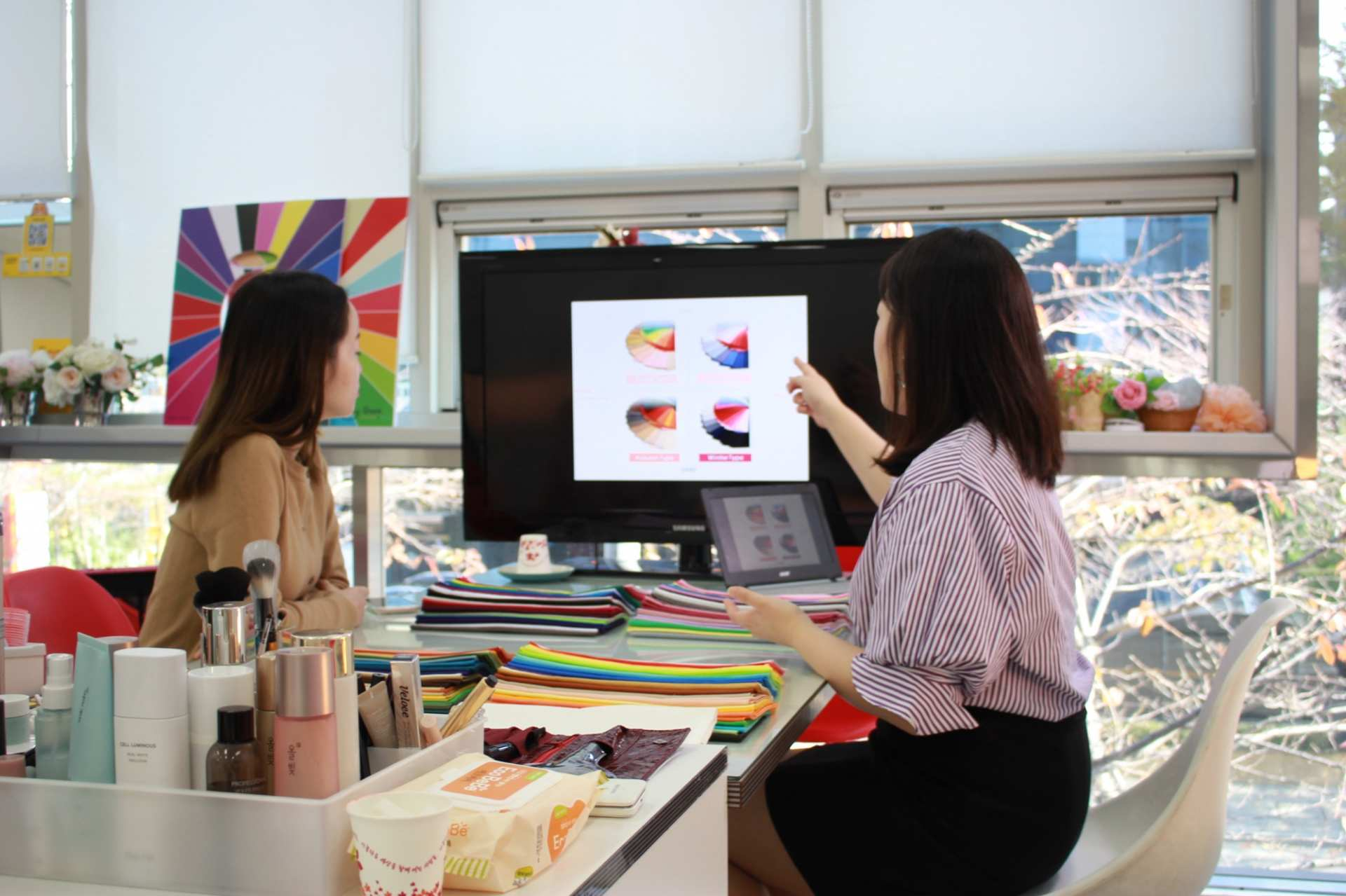 【專屬我的韓系 STYLE】韓國首爾 K Beauty 個人色調診斷與彩妝體驗