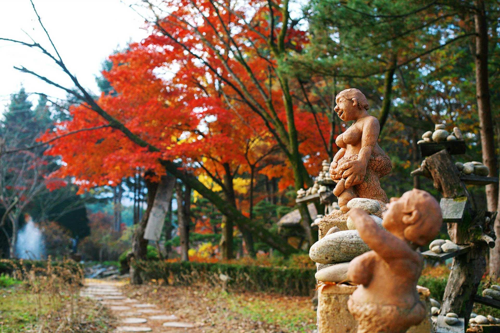 【秋のメープルツアー】ソウル近郊1日ツアー:南怡島・プチフランス