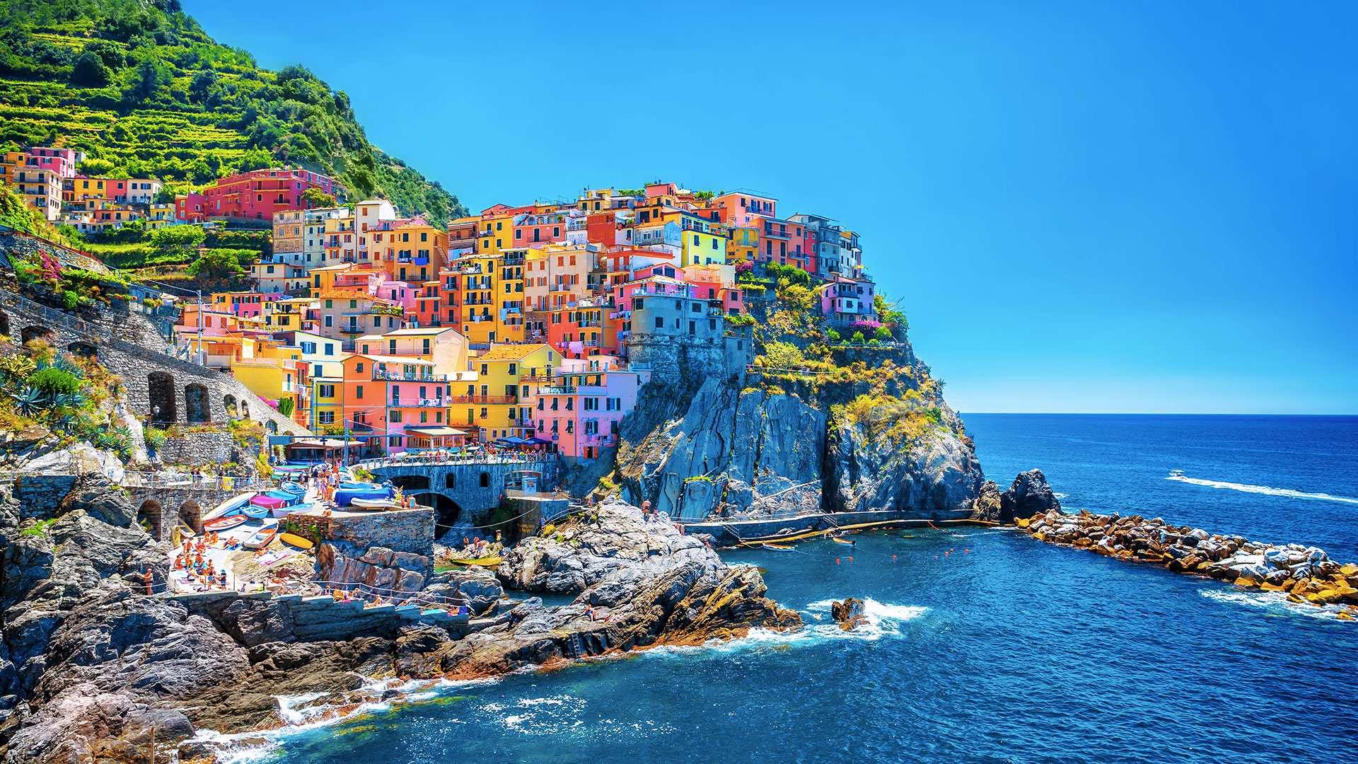 【義大利世界文化遺產】五漁村一日遊(佛羅倫斯出發)