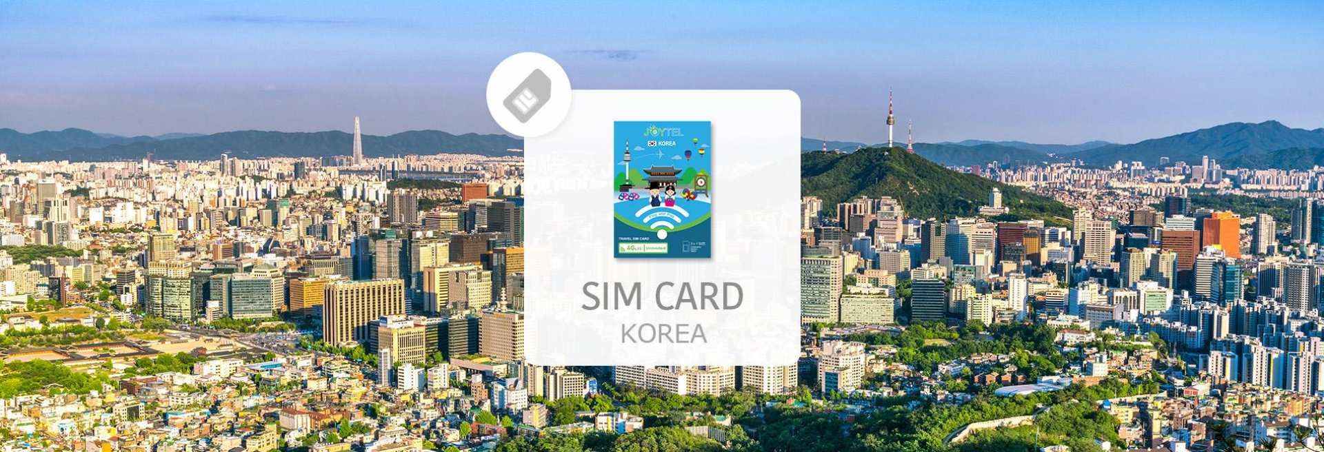 【関西国際空港受取】韓国4GプリペイドSIMカード 5 / 8日間 ネット使い放題
