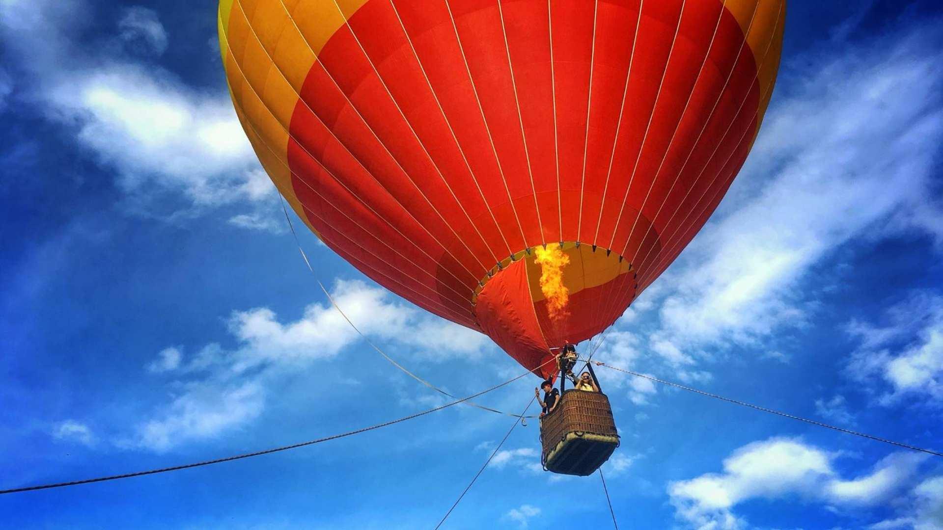 【迎接高空日落】清邁繫留式熱氣球飛行體驗