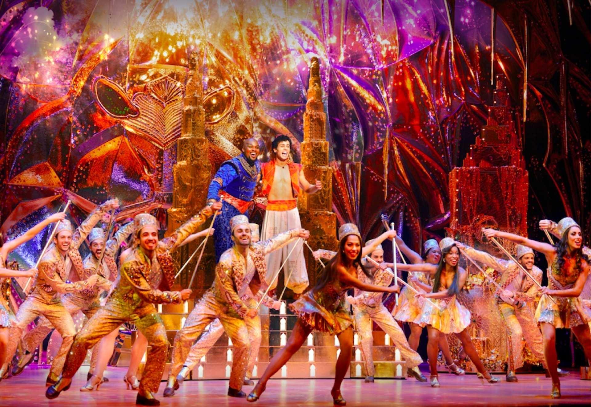 【ブロードウェイ・ミュージカル】アラジン Aladdin:鑑賞チケット