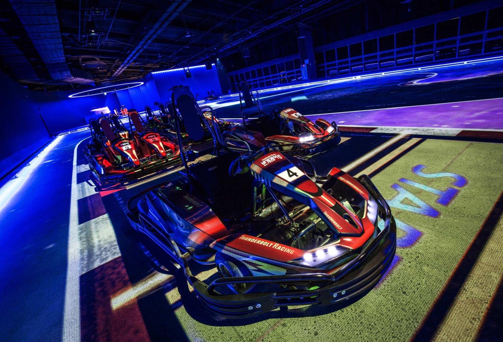 【濟州玩樂新天地】Thunderbolt Racing 閃電賽車競速體驗