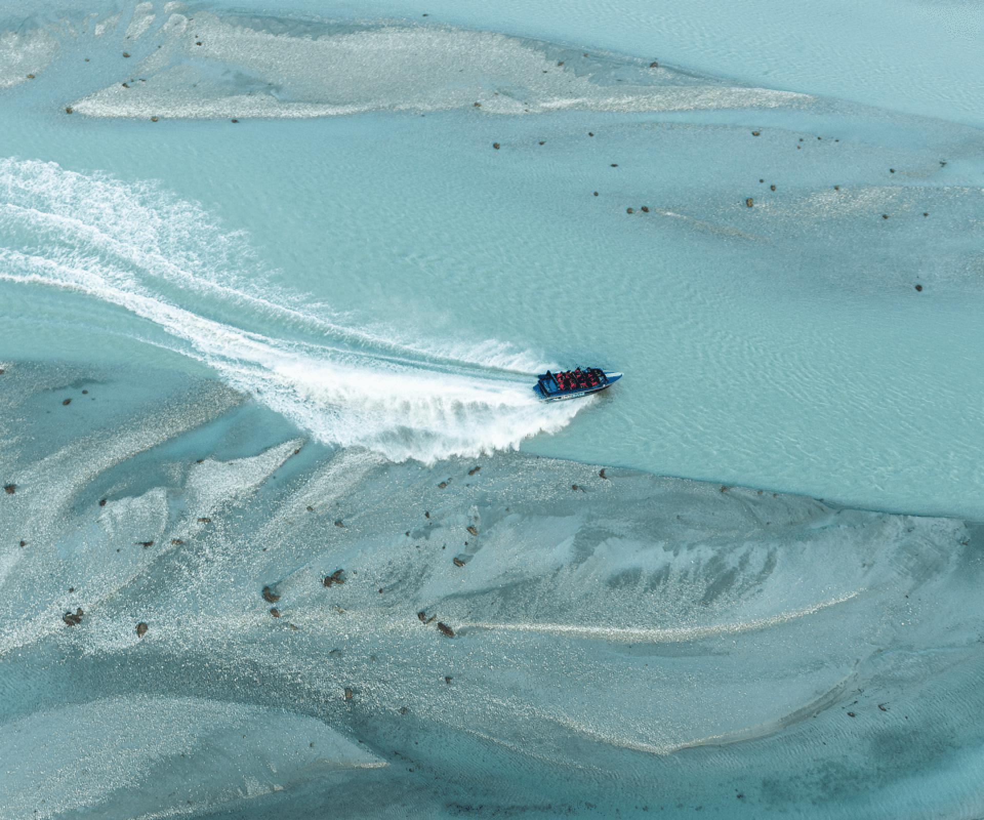 【魔戒中土世界漫步】紐西蘭達特河快艇、魔戒森林徒步之旅(皇后鎮出發)