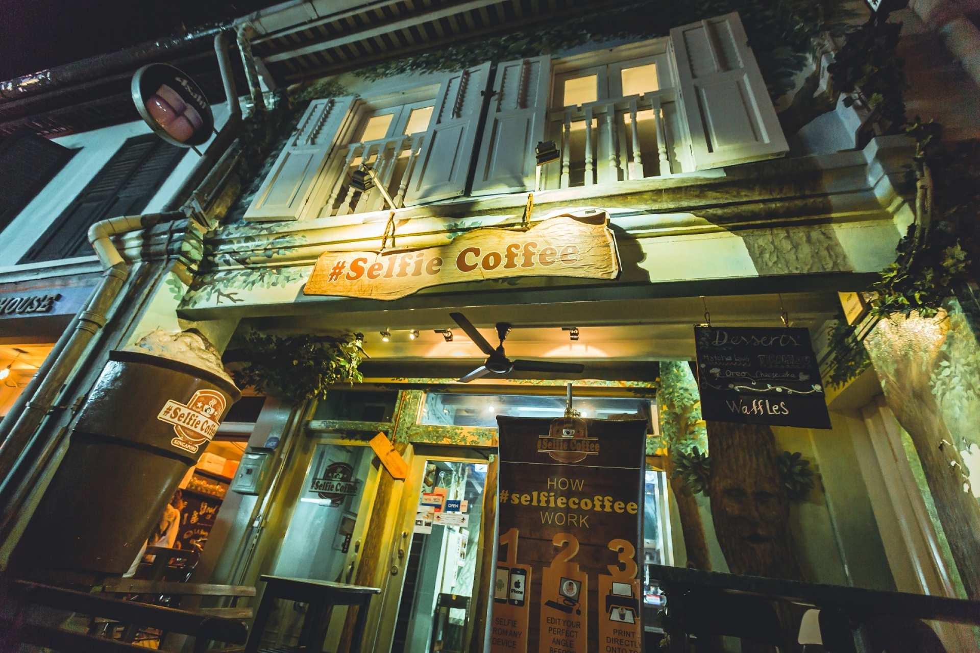 【新加坡超人氣咖啡廳】Selfie Coffee 自拍拉花咖啡體驗