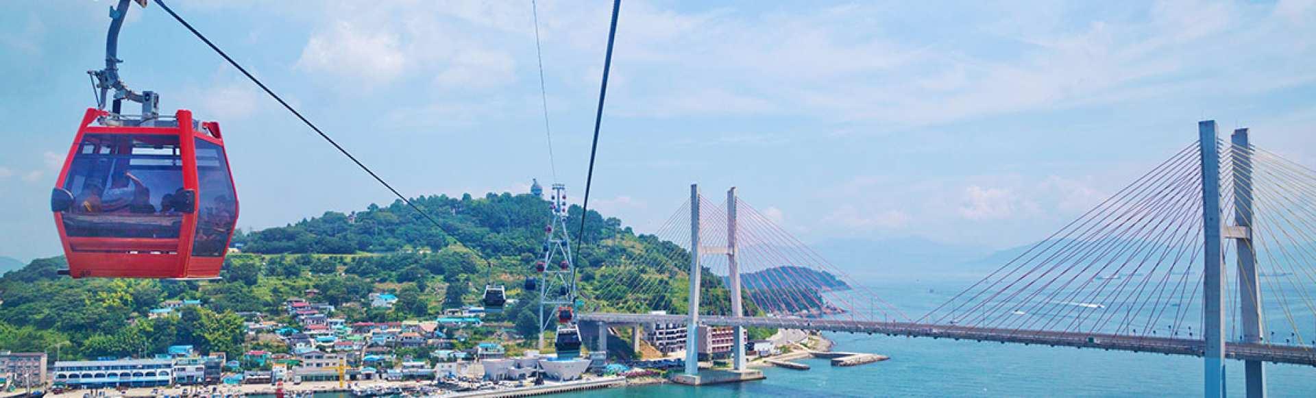 【釜山出發】 向日庵、麗水海上纜車、麗水海洋鐵路自行車一日遊