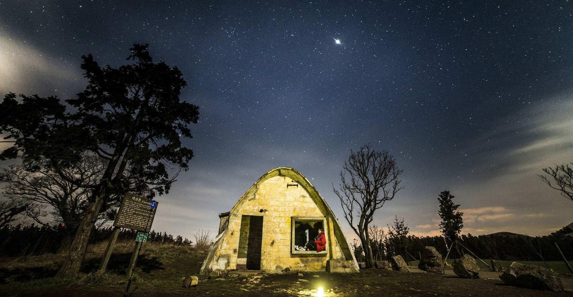 【濟州人生藝術照】星空藝術照+光影塗鴉拍攝體驗