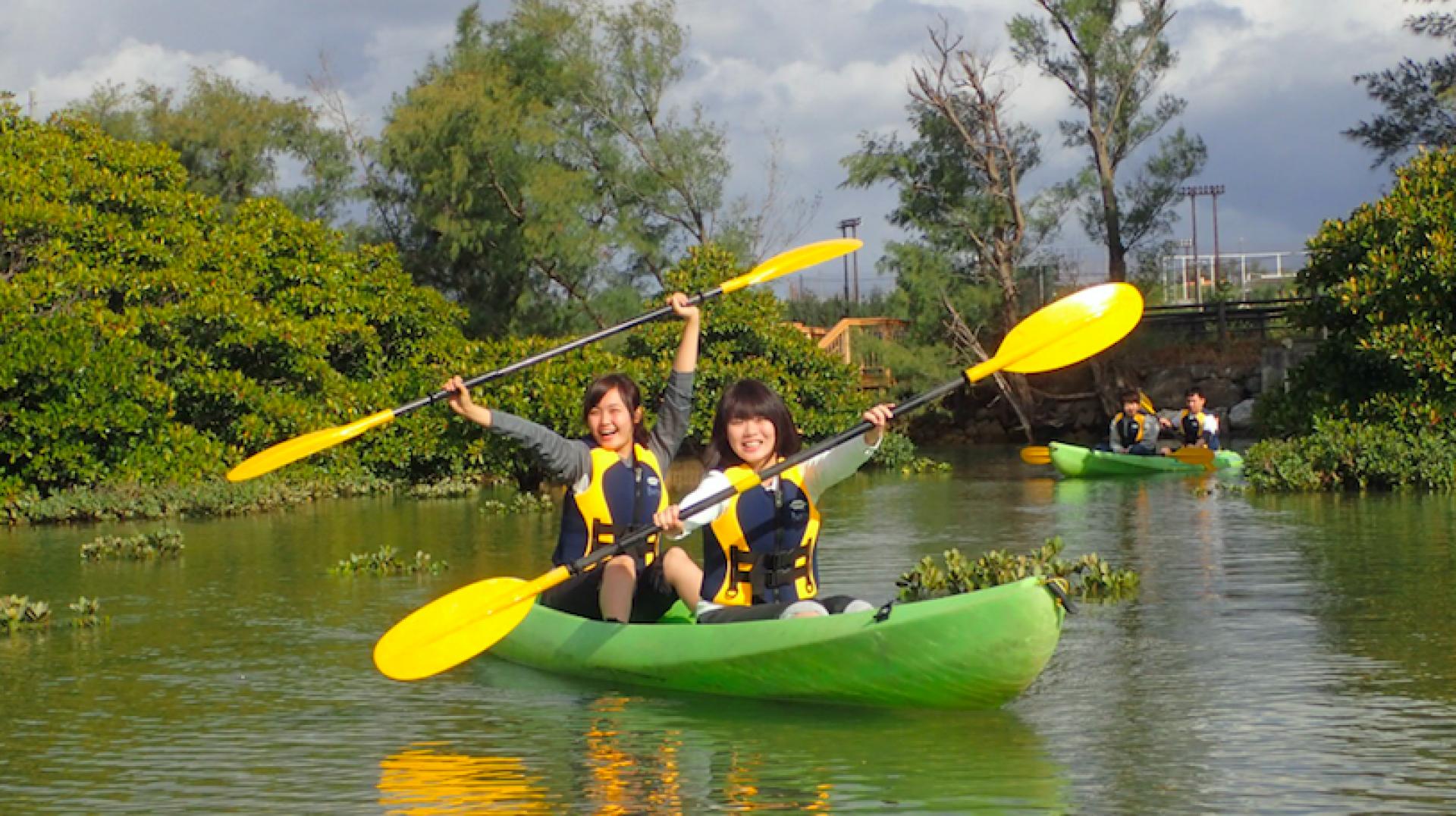 【沖繩特色體驗】沖繩北部 紅樹林獨木舟