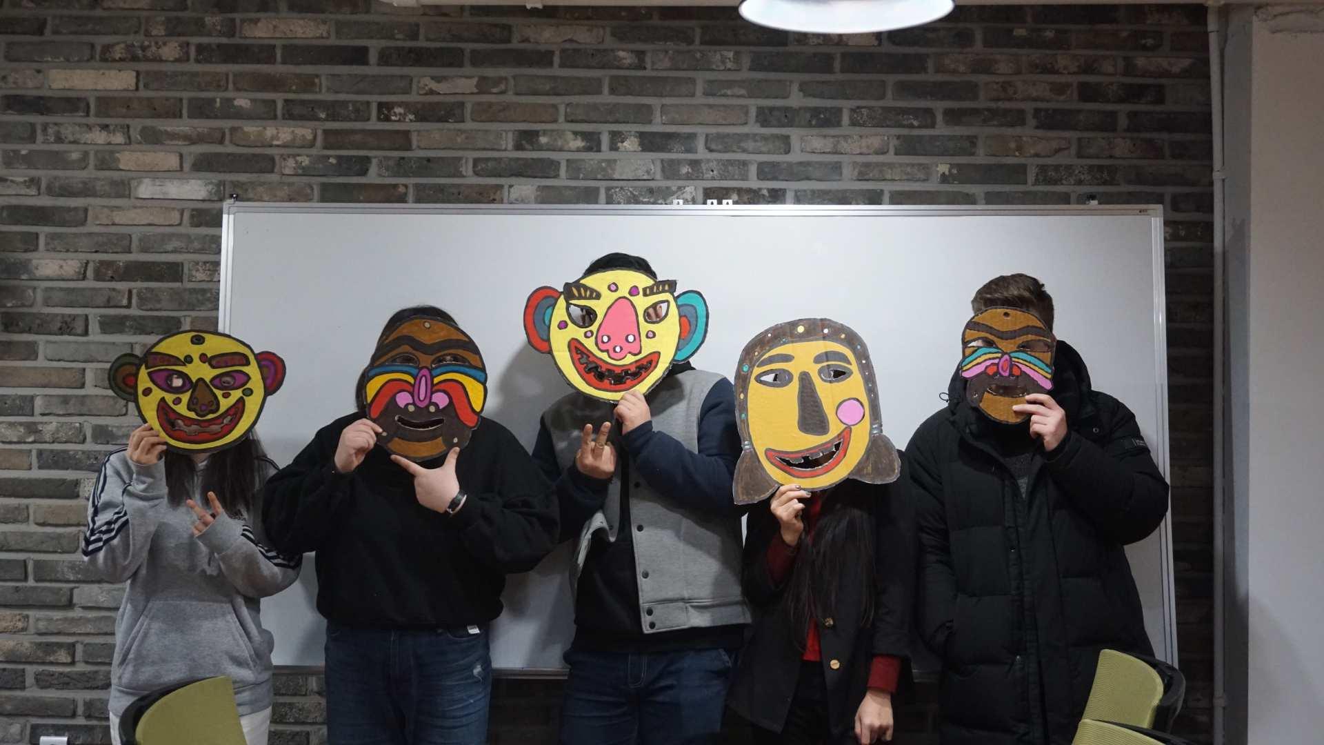 【首爾傳統手作】SHAREUS 韓國傳統面具 DIY 製作體驗