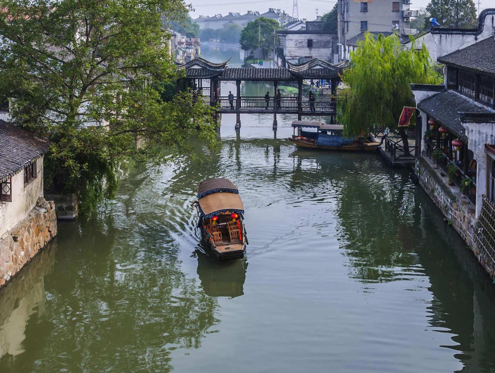 【中國上海景點】上海朱家角水鄉古鎮八景點聯票