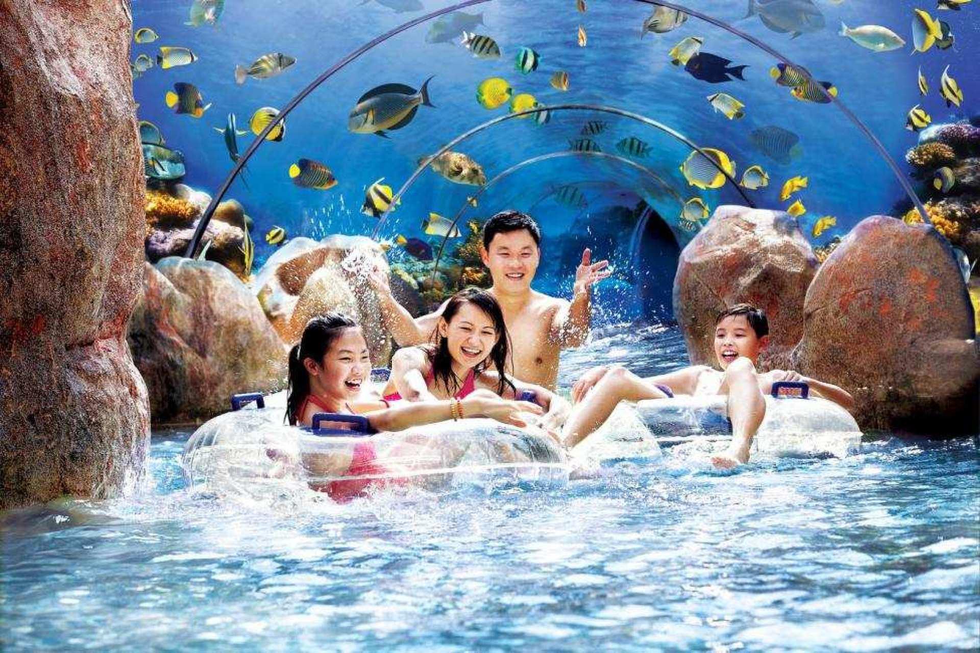 【聖淘沙名勝世界】新加坡水上探險樂園門票