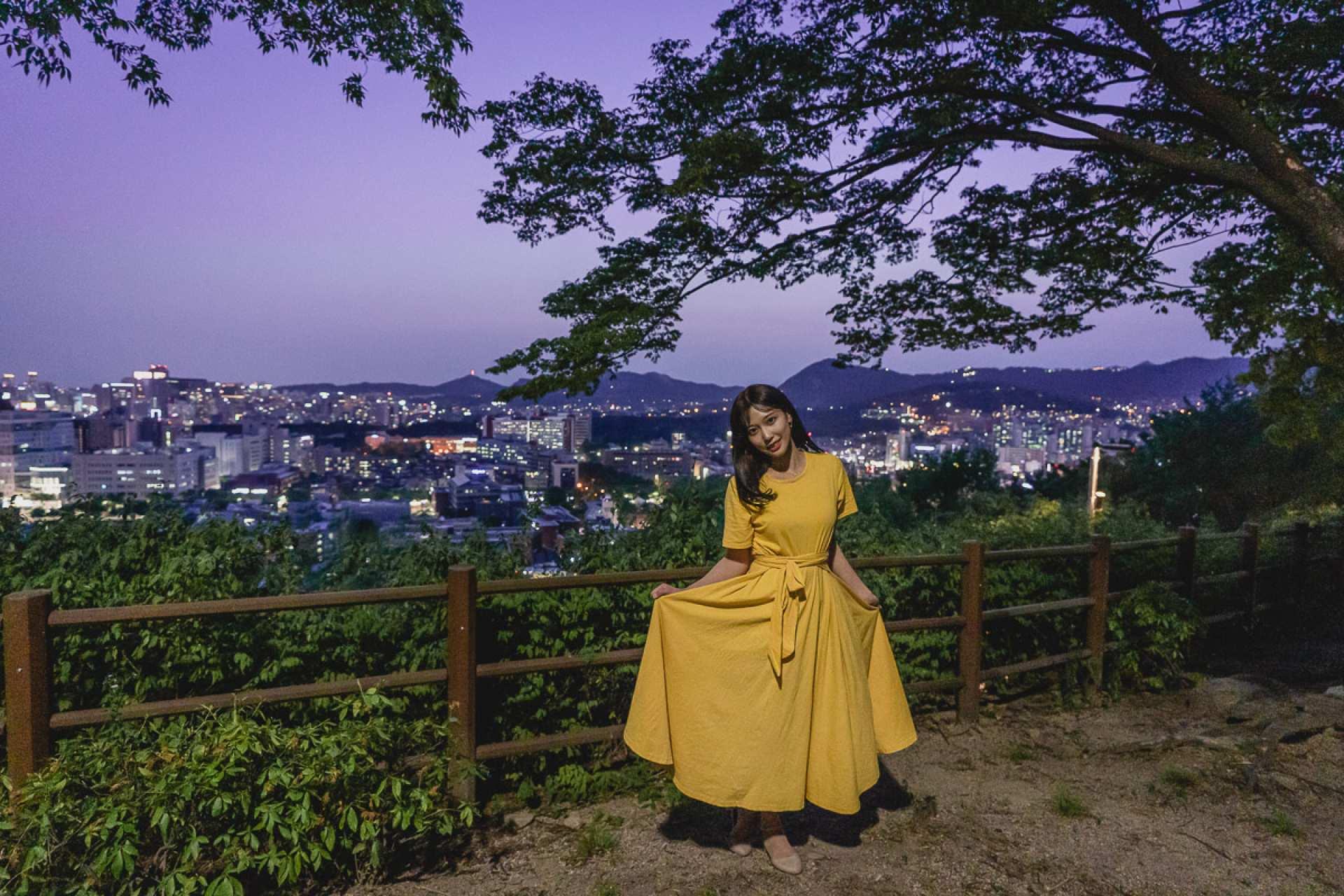 【首爾人氣街拍】駱山公園夜景街拍體驗