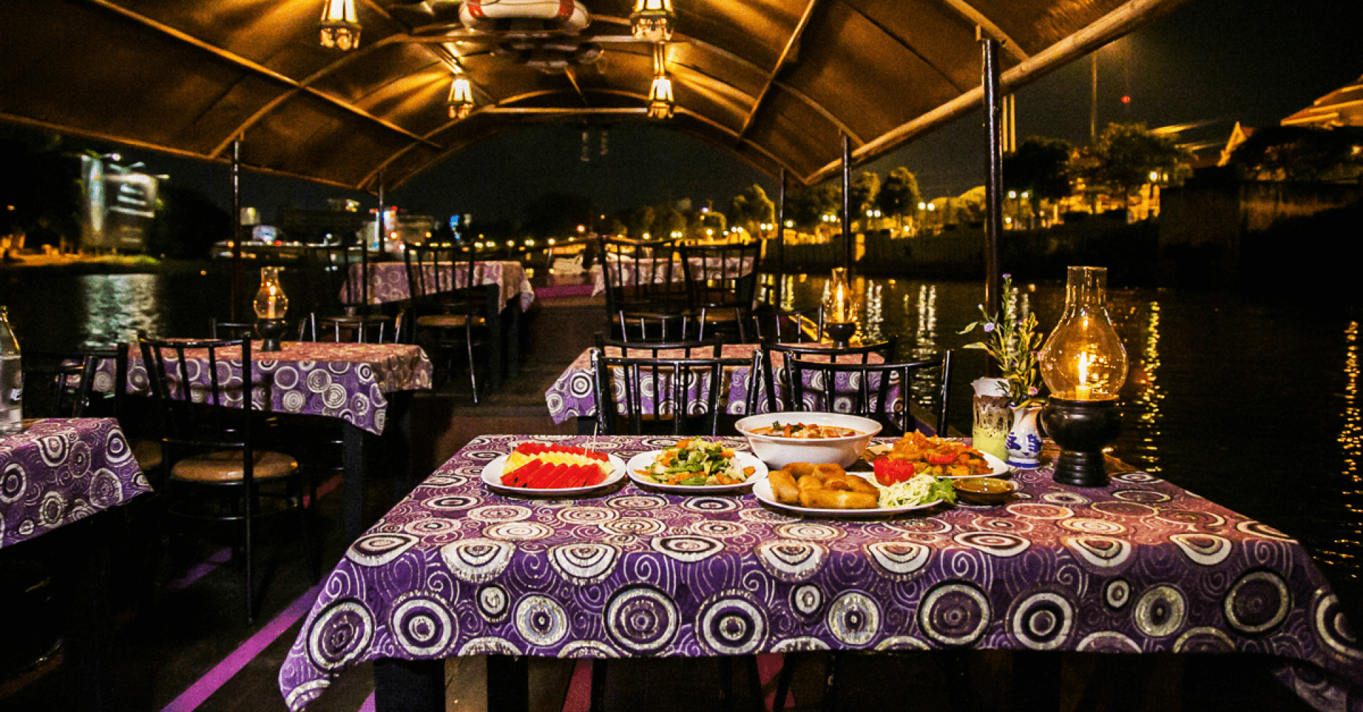 【清邁浪漫微光之旅】湄平河遊船與泰式套餐