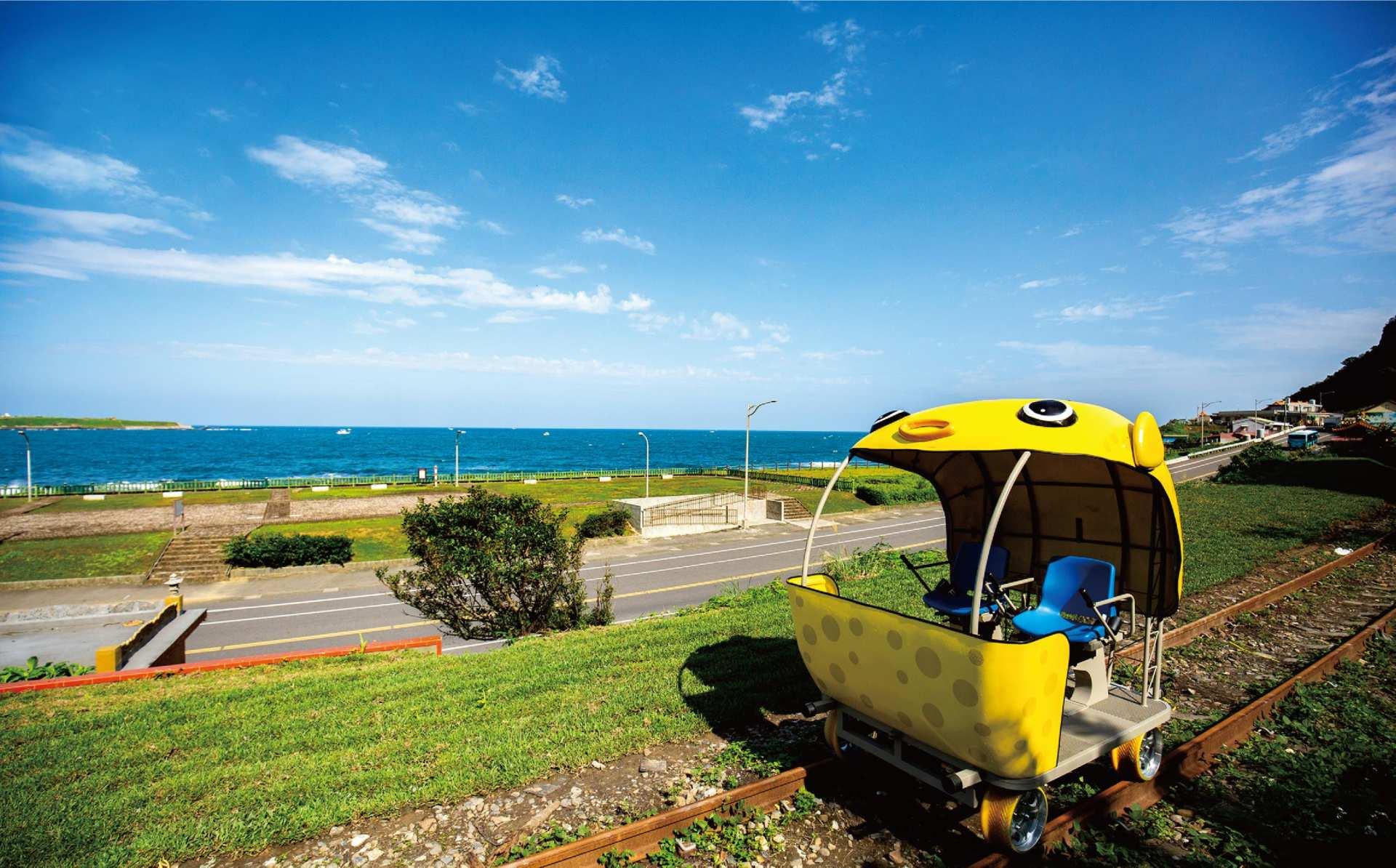 【北海岸一日輕旅行】深澳鐵道自行車/台版小長城.鼻頭角步道/象鼻岩 網美景點一日遊